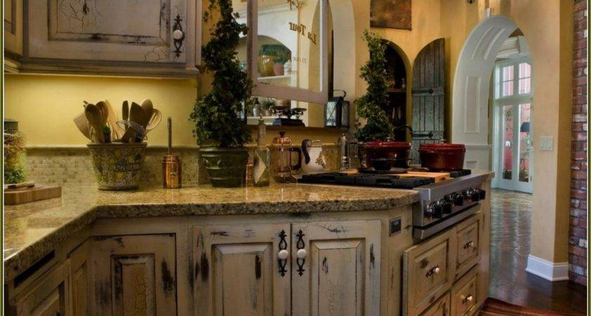 Distressed Kitchen Cabinets Options Tips Ideas