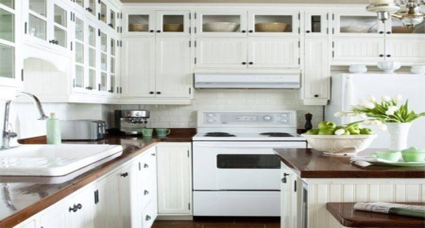 Distressed White Kitchen Cabinets Pantry Pinterest