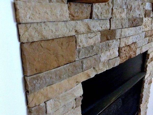 Diy Airstone Fireplace Reveal Sweet Parrish Place