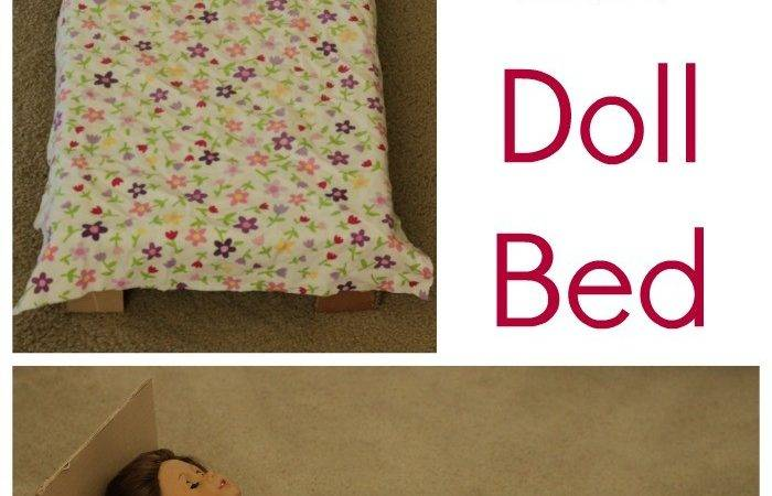 Diy American Girl Doll Bed Coffee Cups Crayons