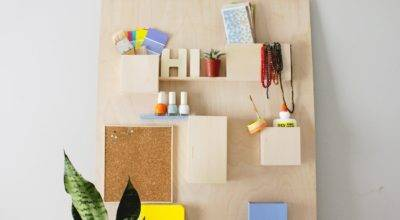 Diy Anthropologie Wall Organizer Less Than