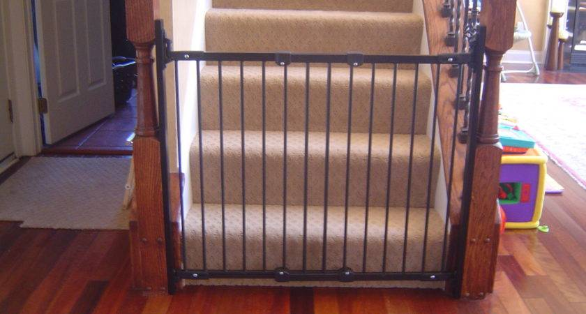 Diy Baby Gate Stairs Banister Best Gates