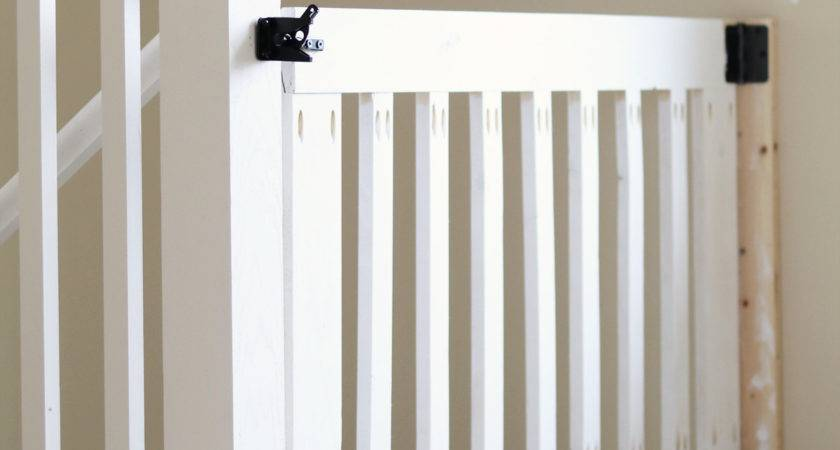 Diy Baby Gate Stairs Your Self