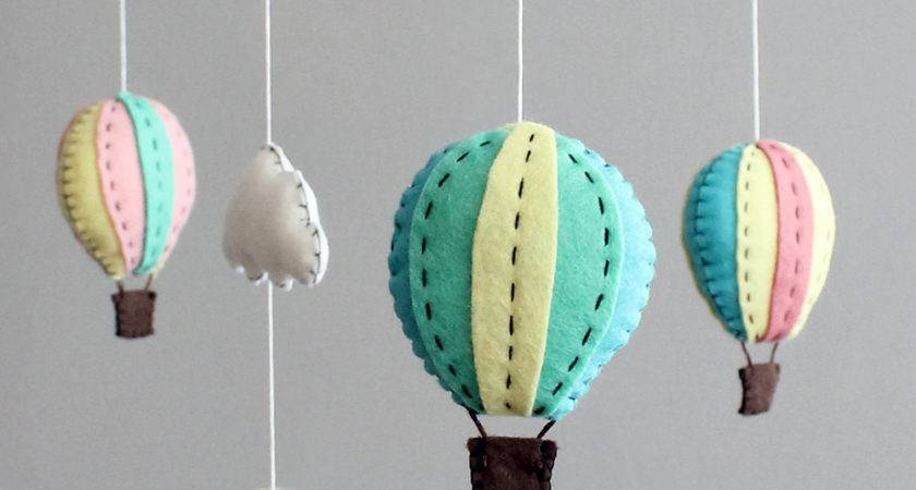 Diy Baby Mobile Kit Make Your Own Hot Air Balloon