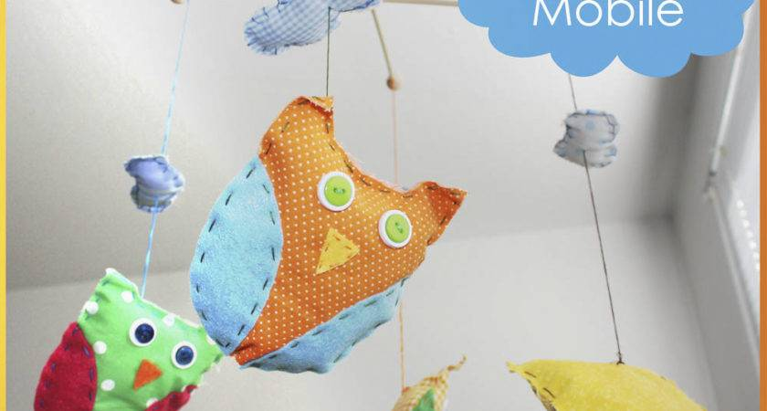 Diy Baby Mobile Naptime Crafters Honeybear Lane