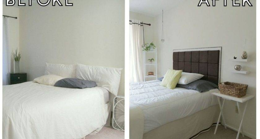 Diy Backboard Bed - Gabe & Jenny Homes