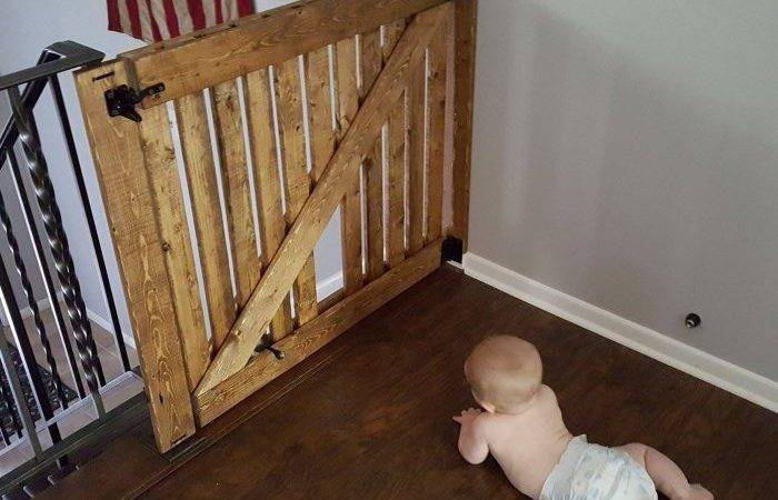 Diy Barn Door Baby Gate Pet Instructions