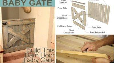 Diy Barn Door Baby Gate Plans Home Design Garden