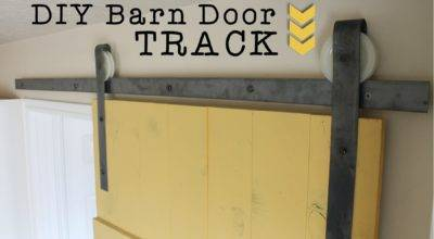 Diy Barn Door Track Find Make Love