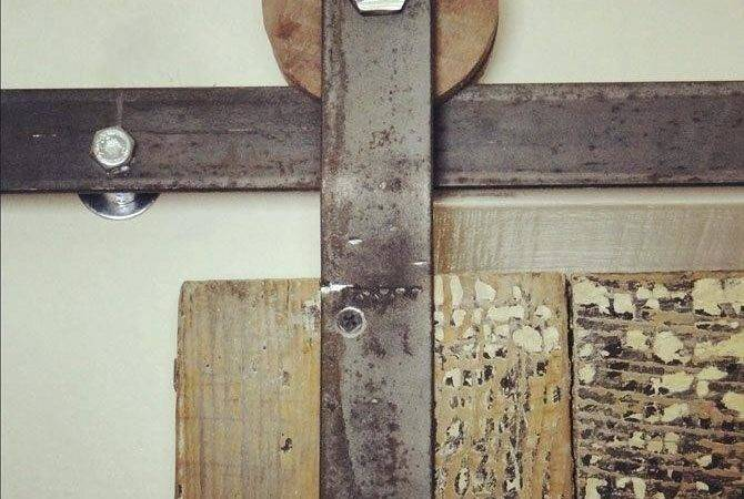 Diy Barn Door Track Single