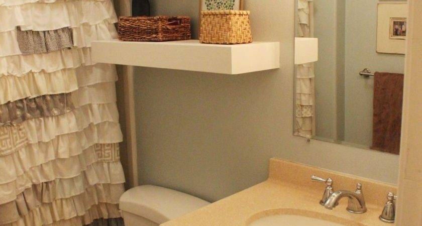 Diy Bathroom Floating Shelves