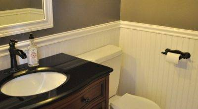 Diy Bathroom Makeover Homemaker Unexpected Talent