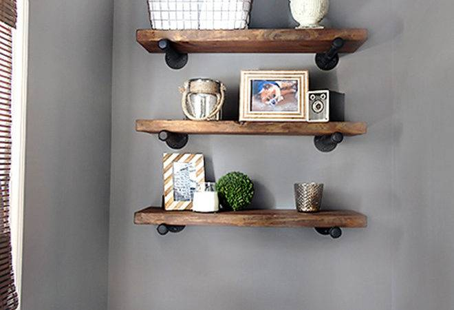 Diy Bathroom Shelves Increase Your Storage Space
