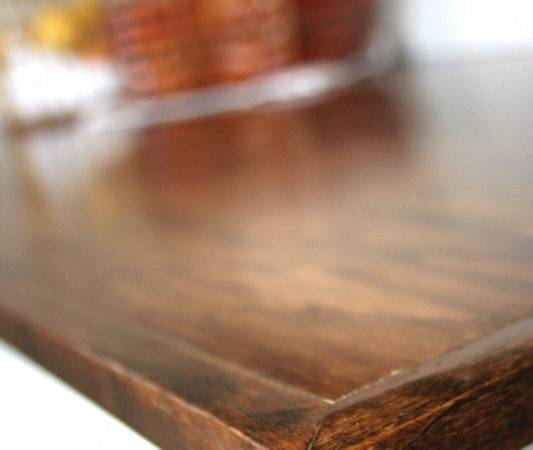 Diy Beautiful Wood Countertops Under Hometalk