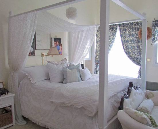 Diy Bed Canopy Little Help Ana White