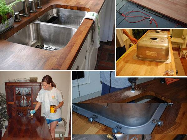 Diy Budget Friendly Butcher Block Countertops Amazing