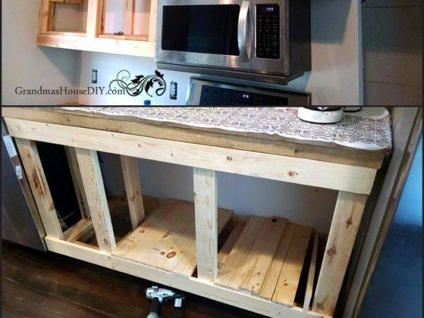 Diy Build Your Own White Country Kitchen Cabinets