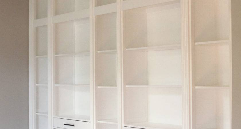 Diy Built Bookcase Reveal Ikea Hack Studio