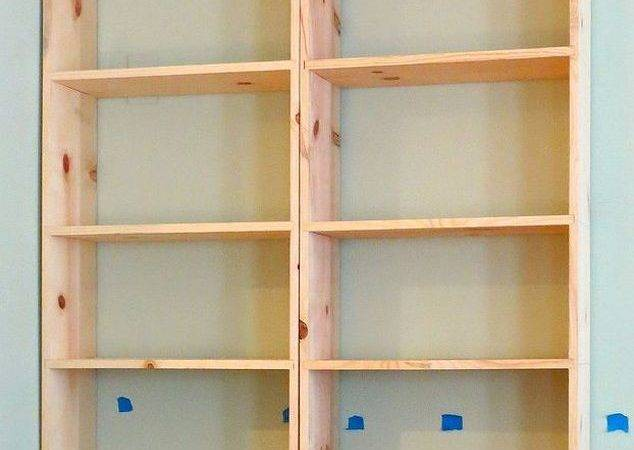 Diy Built Bookcases Hometalk