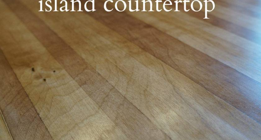 Diy Butcher Block Island Countertop