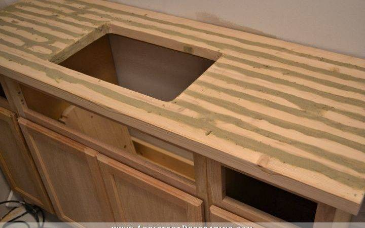Diy Butcherblock Style Countertop Undermount Sink