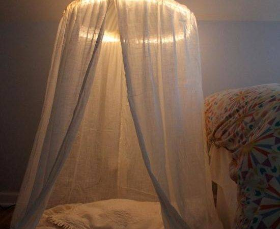 Diy Canopy Bed Play Tent Lights Cotcozy
