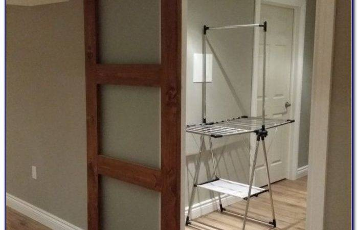 Diy Ceiling Mount Barn Door Hardware Post