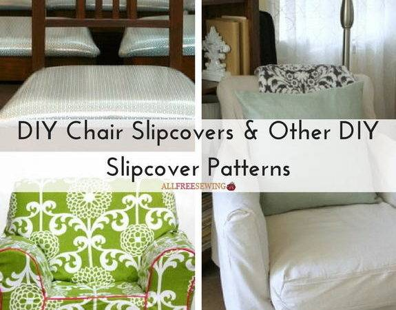 Diy Chair Slipcovers Other Slipcover Patterns