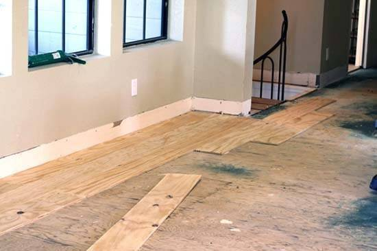 Diy Cheap Plywood Flooring Ideas Easy Steps