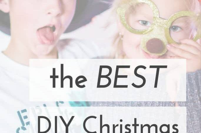 Diy Christmas Party Booth Embrace Perfect Mess