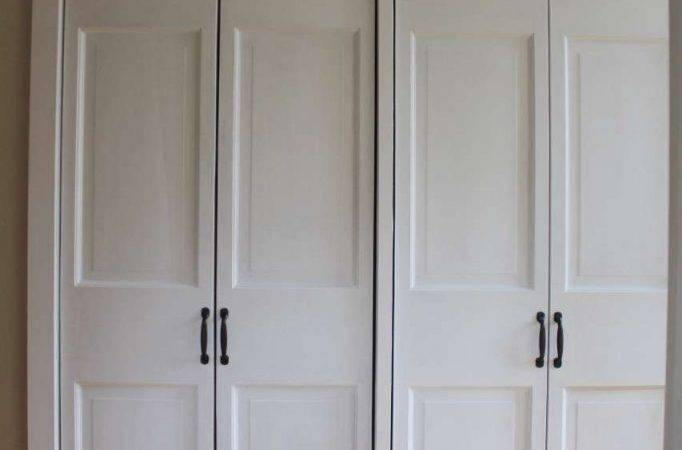 Diy Closet Door Makeover Fold Hinged Lehman Lane