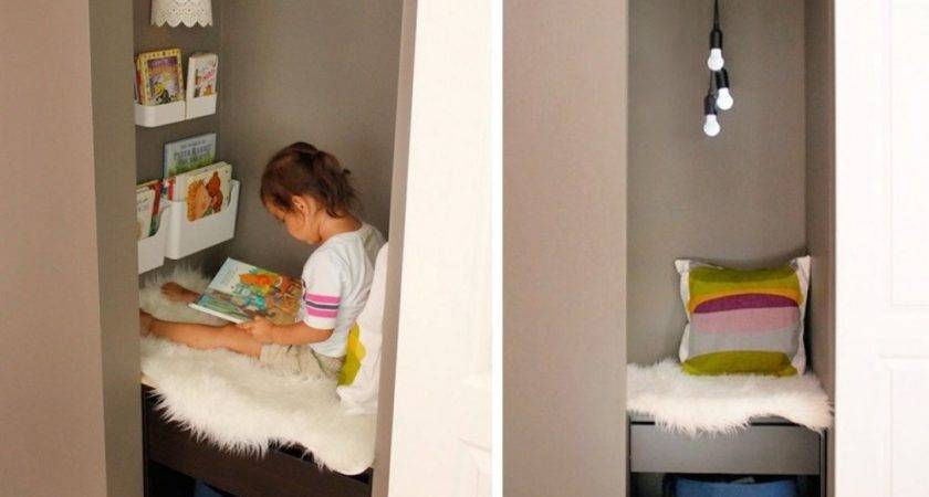 Diy Closet Reading Nook Home Improvement Ideas Like