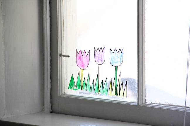 Diy Contact Paper Window Clings