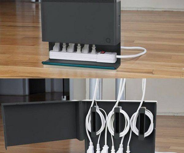 Diy Cord Cable Organizers Clean