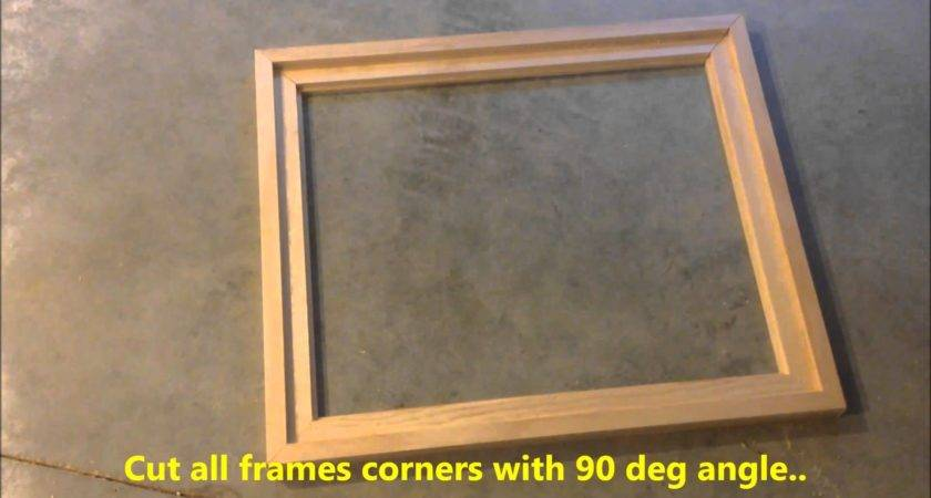 Diy Creating Your Own Floating Frame Canvas Youtube