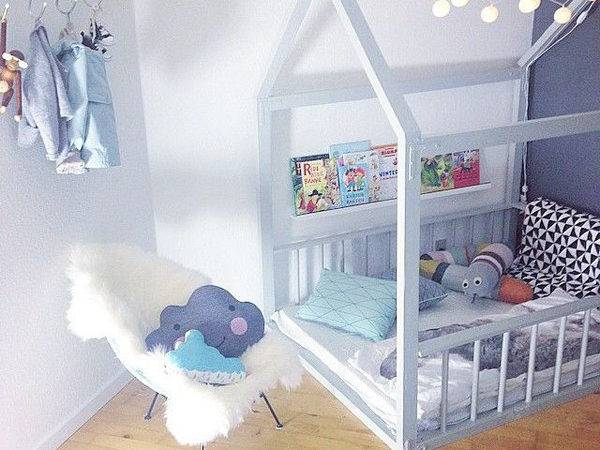 Diy Creative House Bed Kids Room Home Design