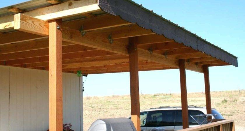 Diy Deck Covers Amazing Build Wooden Patio Cover
