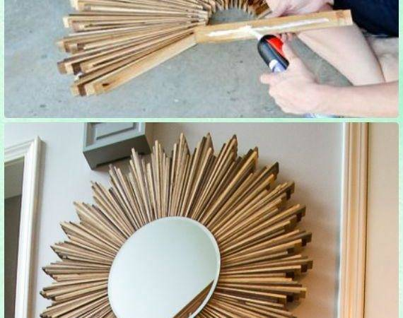 Diy Decorative Mirror Frame Ideas Projects