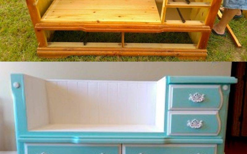 Diy Dresser Bench Your Home Vicki Payne