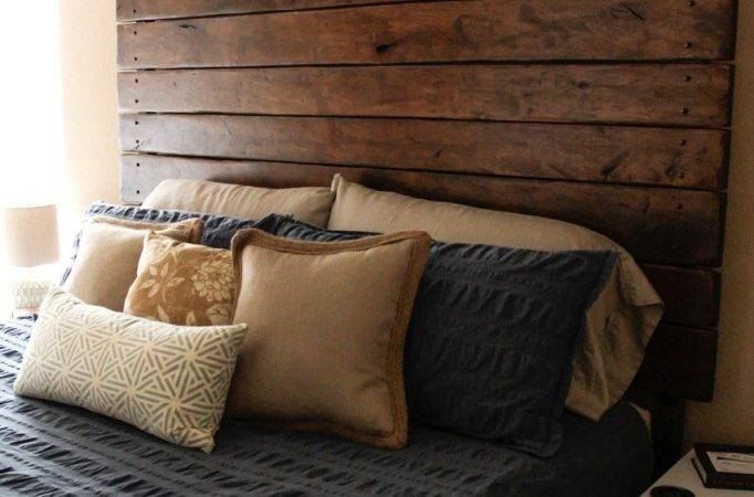Diy Drop Cloth Upholstered Headboard Save