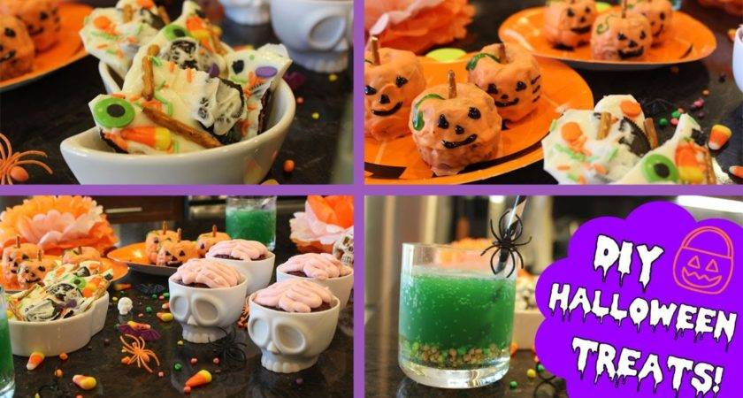 Diy Easy Halloween Treats Youtube