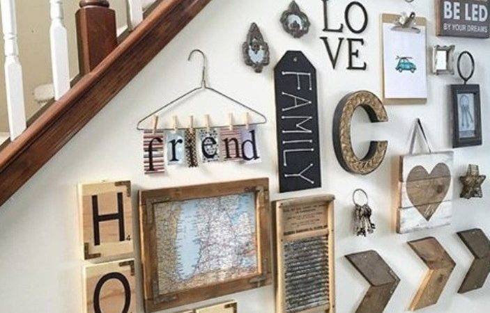 Diy Farmhouse Scrabble Wall Art Decorating Ideas Home