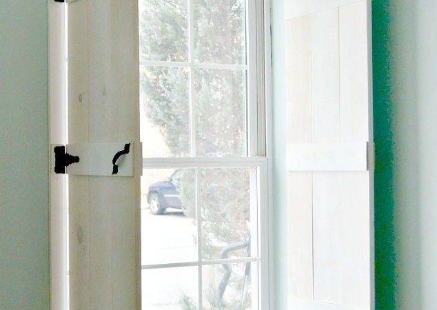 Diy Farmhouse Style Indoor Shutters Hometalk