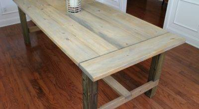 Diy Farmhouse Table Less Than Turquoise Home