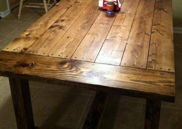 Diy Farmhouse Table Woodworking Projects