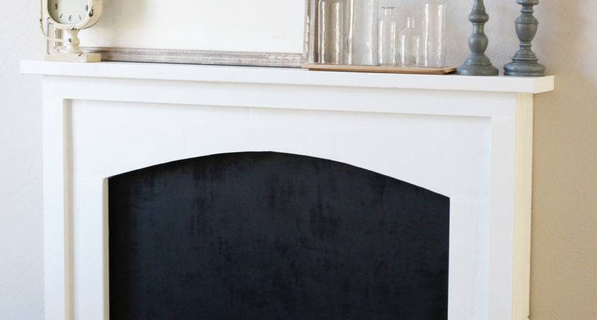 Diy Faux Fireplace Reveal Miss Midwest