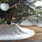 Diy Faux Fur Christmas Tree Skirt Decorating Delirium