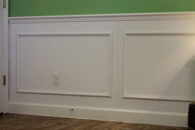 Diy Faux Wainscoting Gilbertson