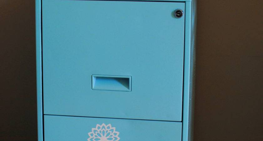 Diy Filing Cabinet Makeover Pennywise Cook