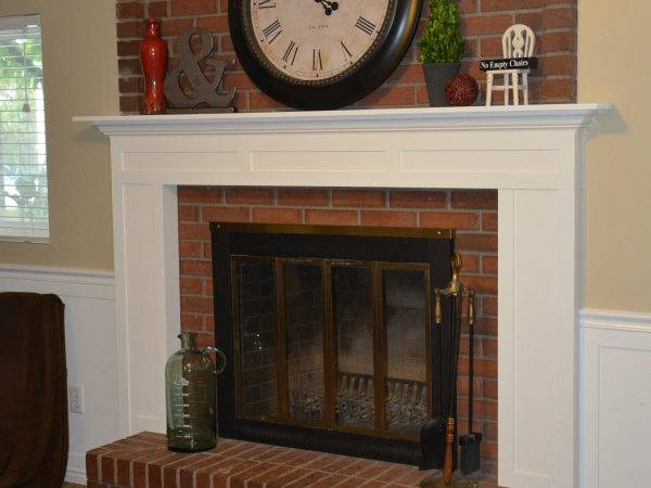 Diy Fireplace Mantel Idea Room